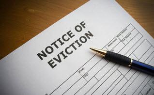 Tenant eviction service